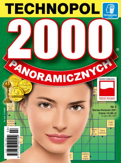Krzyżówka 2000 panoramicznych