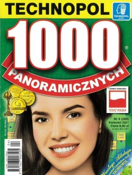 Krzyżówki 1000 panoramicznych