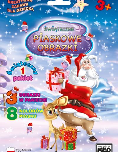 NIKO Piaskowe obrazki Pakiet świąteczny nr 1