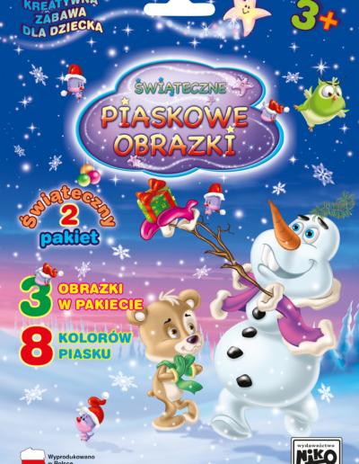 NIKO Piaskowe obrazki Pakiet świąteczny nr 2