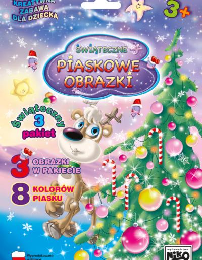 NIKO Piaskowe obrazki Pakiet świąteczny nr 3