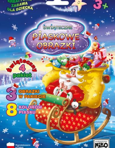 NIKO Piaskowe obrazki Pakiet świąteczny nr 4