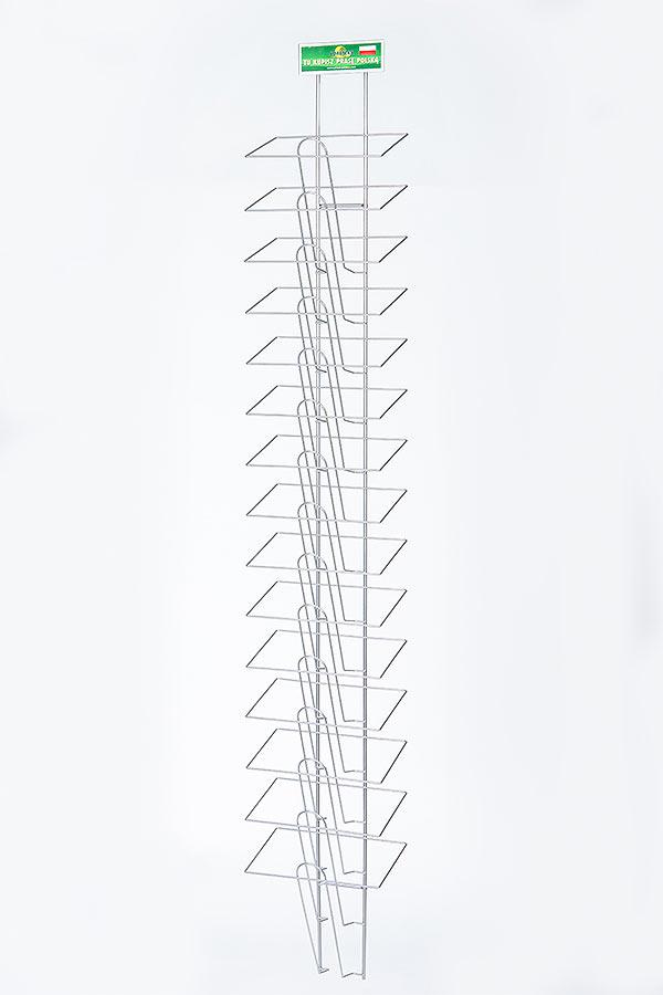 Wieszak naprasę- ścienny A4x15