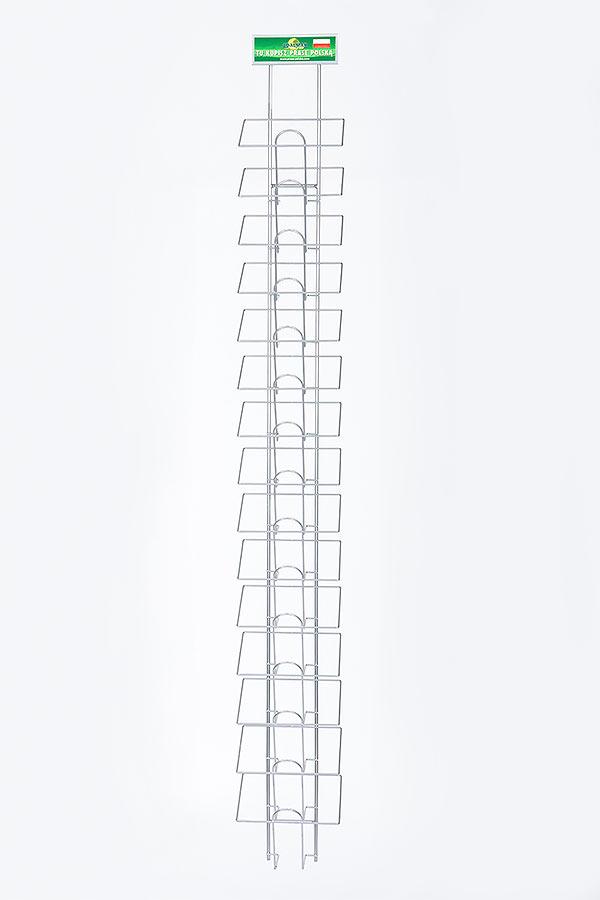 Wieszak na krzyżówki 1- ścienny A5x15